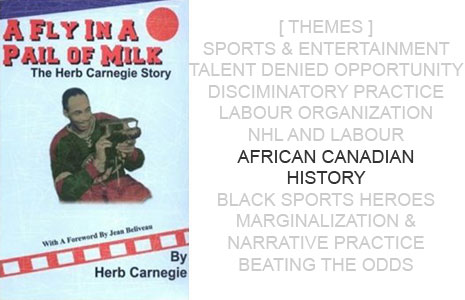 Book Cover: A Fly in a Pail of Milk by Herb Carnegie
