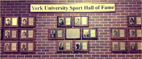 York University Sport Hall of Fame at Tait MacKenzie