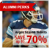 Alumni Perks - Argos Season Ticket Save Up to 70%