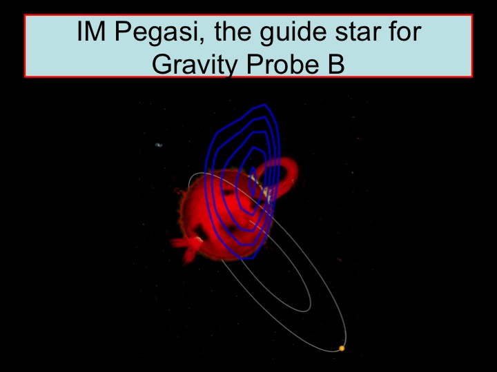 IM Pegasi, the guide star for Gravity Probe B