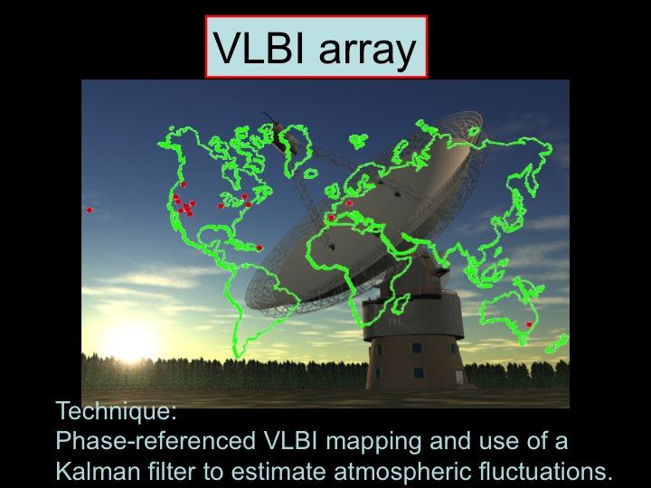 VLBI array