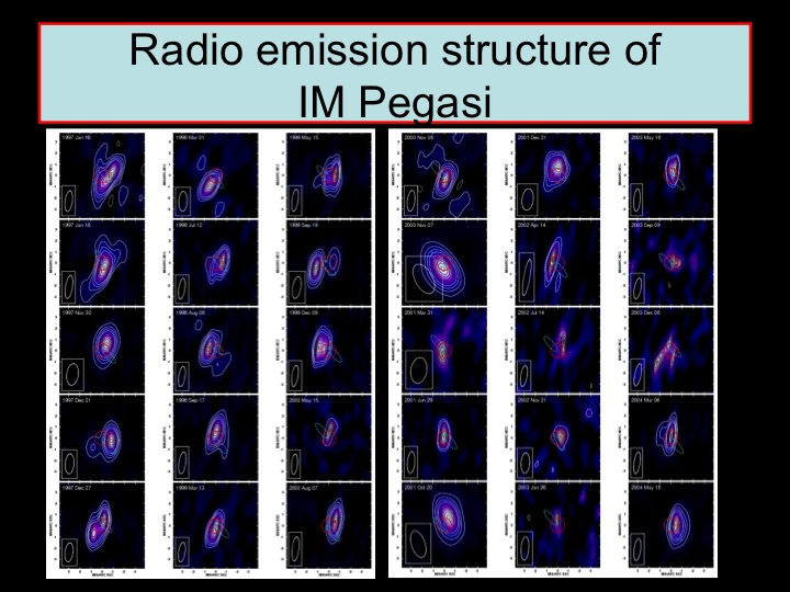 Radio images of IM Pegasi