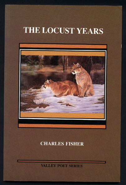 cover image, Charles' book The Locust years