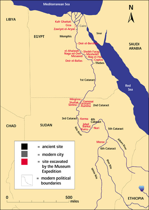 Introduction To Archaeology And Palaeoanthropology - Map of ancient egypt 3000 bc