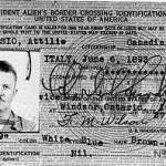 Non-Resident Alien Card