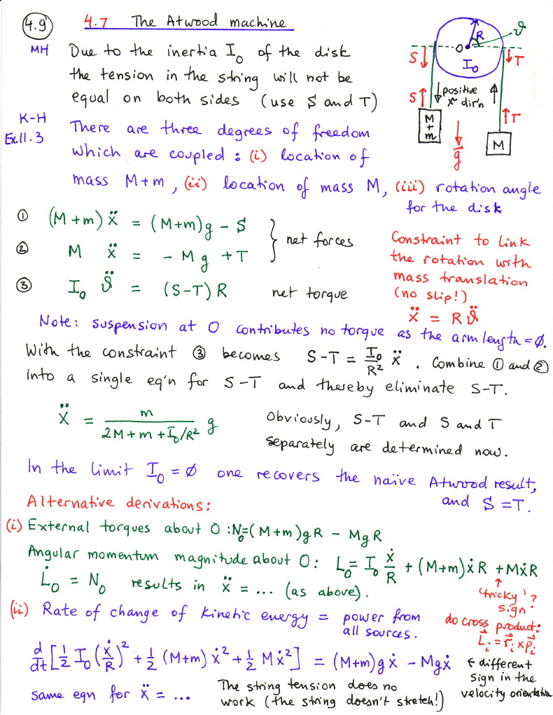Classical Mechanics Course Notes Marko Horbatsch
