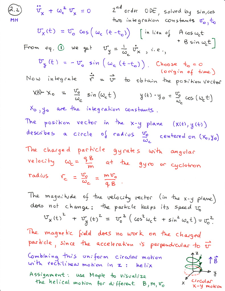Classical Mechanics Course Notes
