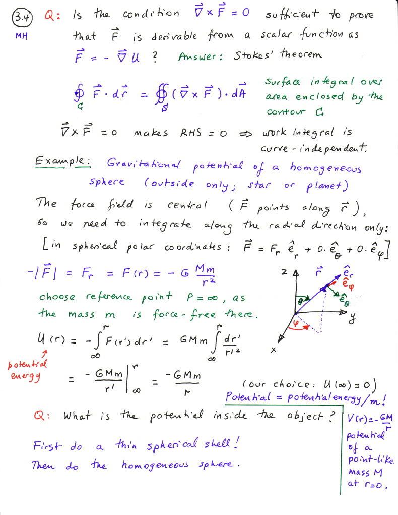 Classical Mechanics Course Notes