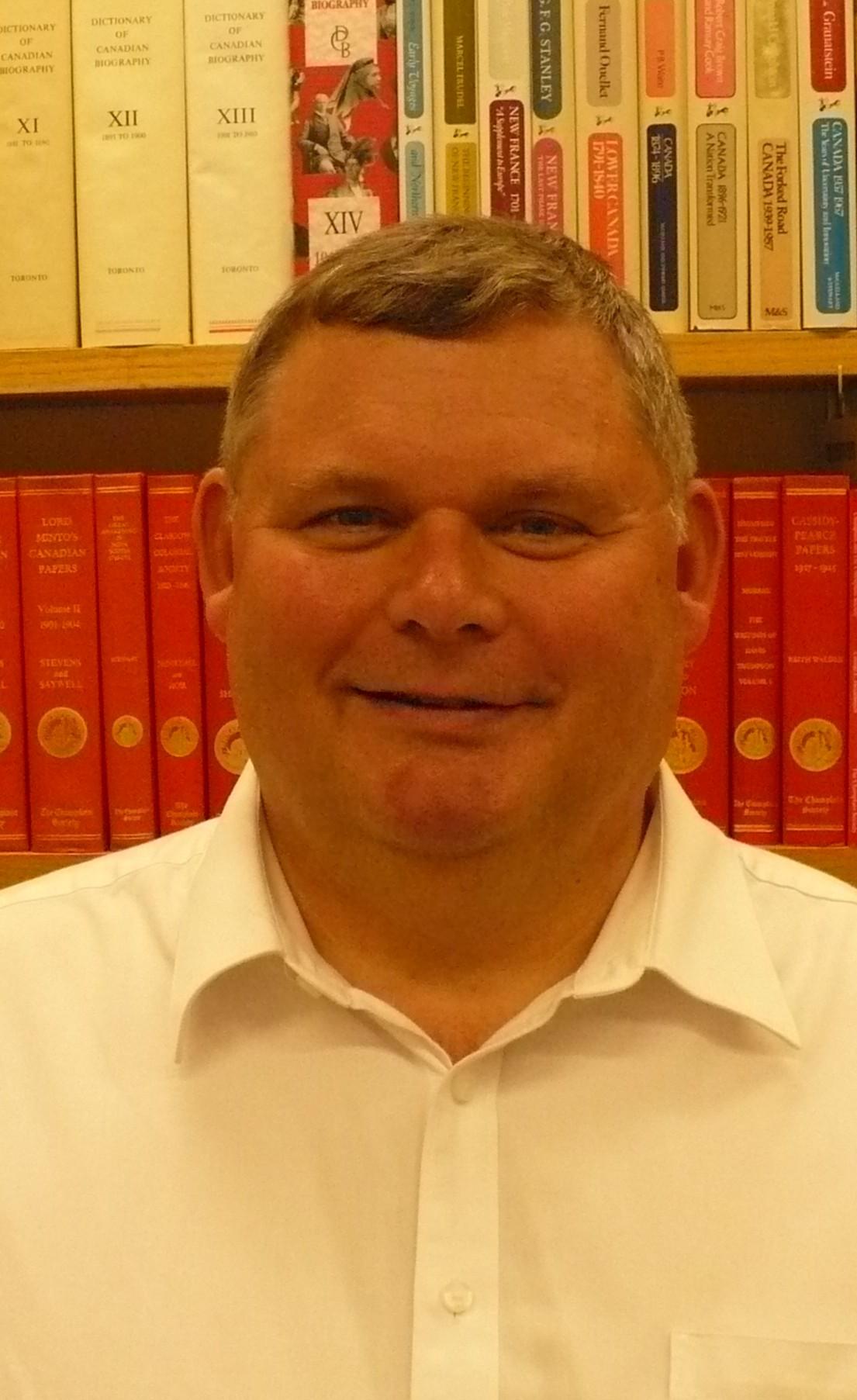 Portrait of Michael Moir
