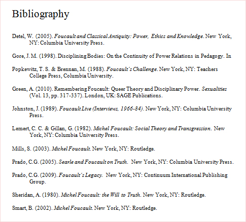 Build a bibliography or works cited page the easy way