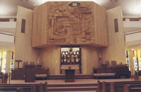 Or Hargil Stained Glass Windows At Beth Emeth Bais