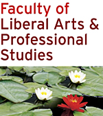 Faculty of Liberal Arts & Professional Studies