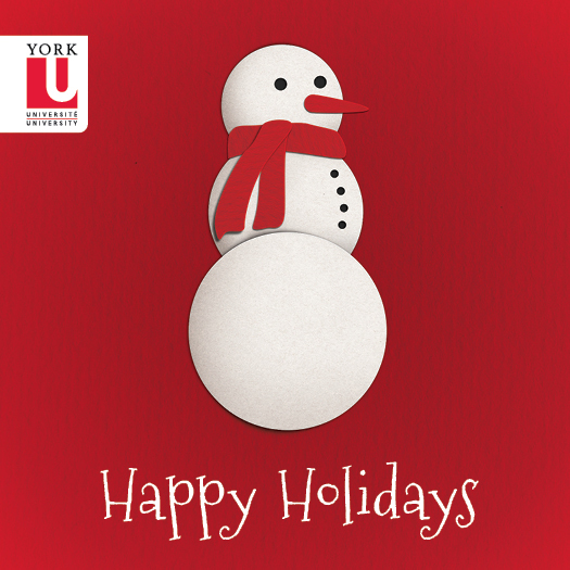 Seasons Greetings From York University