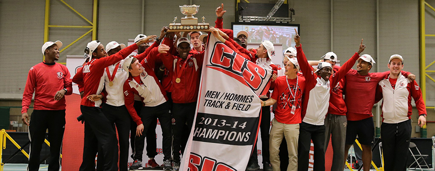 York U Lions crowned national men's track and field champions