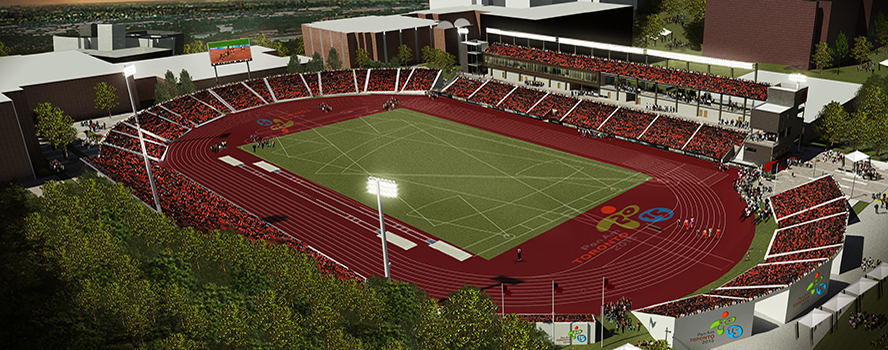 York is delighted to host the Track & Field events for the Pan Am Games July 10-16 and Parapan Am Games, August 7-15