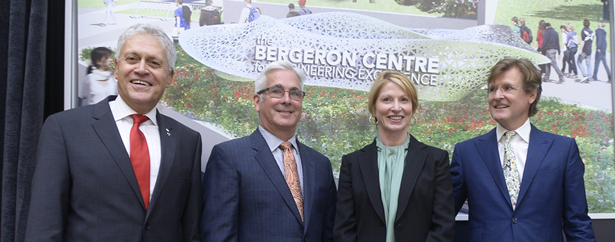 Alumnus Doug Bergeron and wife Sandra expand investment in York University to $10-million