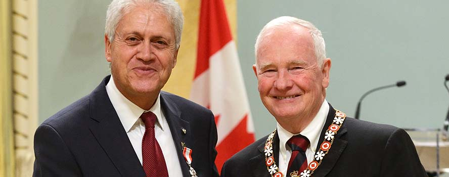 Congratulations to York U President and Vice-Chancellor Mamdouh Shoukri on being invested into the Order of Canada