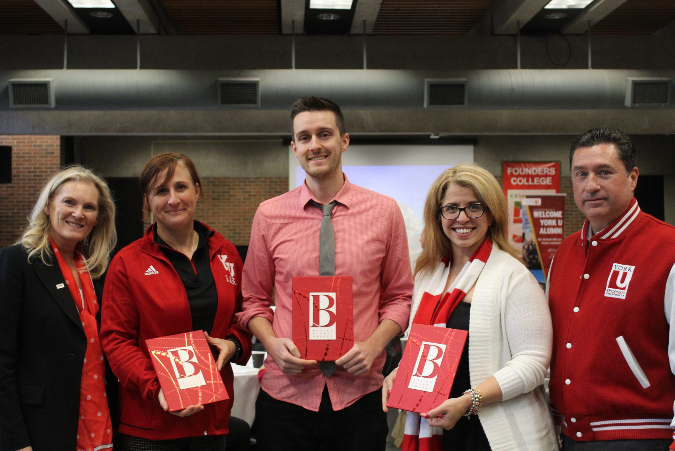 Red & White Day Breakfast celebrates on-campus alumni and donors