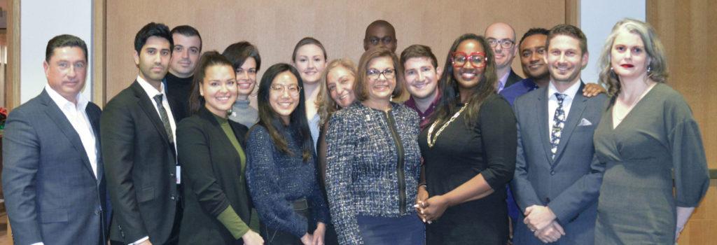 Photo of all members of York University Alumni Board