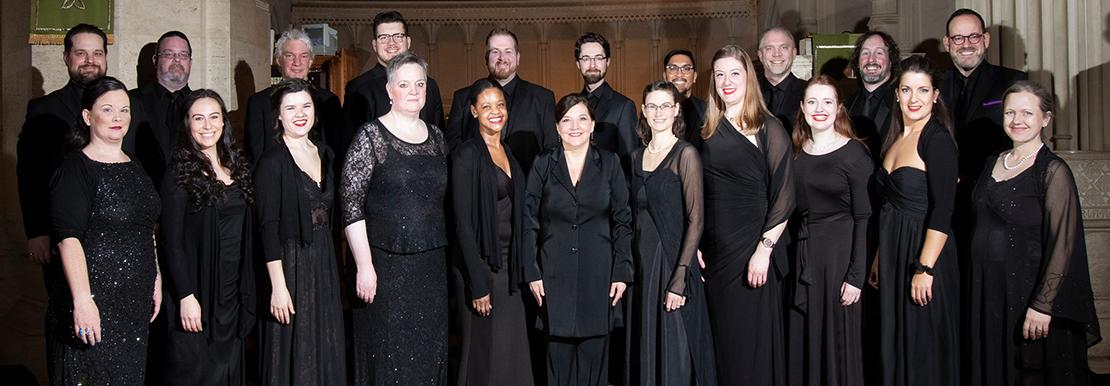 A group photo of the Ottawa Bach Choir