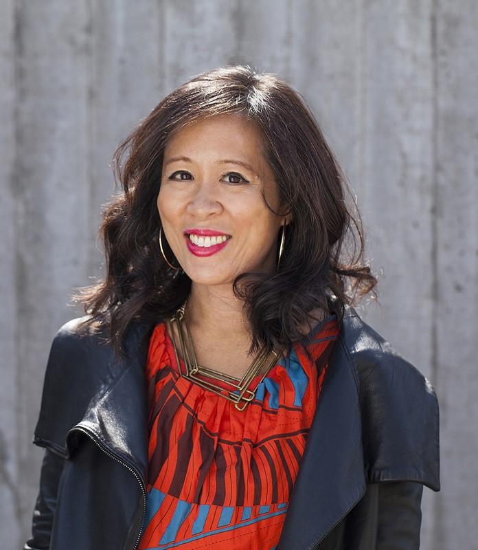 Professional headshot of Lisa Ko, author of The Leavers.