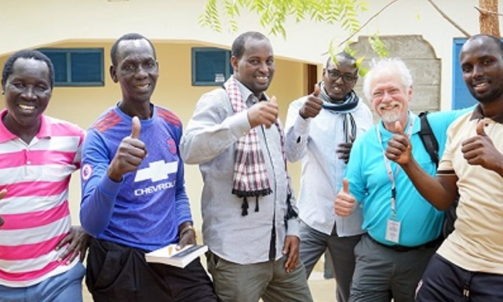 Images of York graduates in Kenya who are the first cohort to receive Masters Degrees