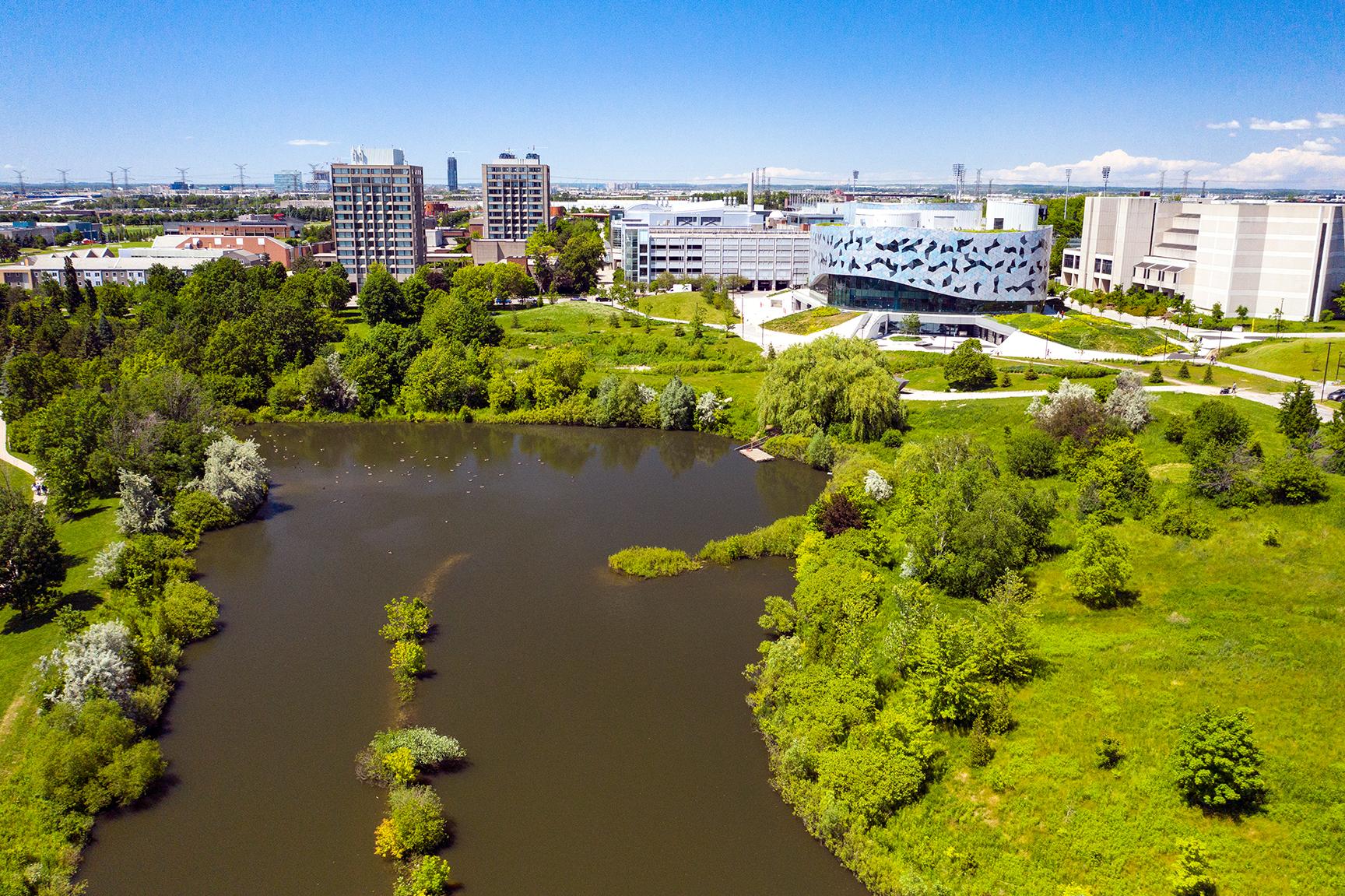 West Campus Pond
