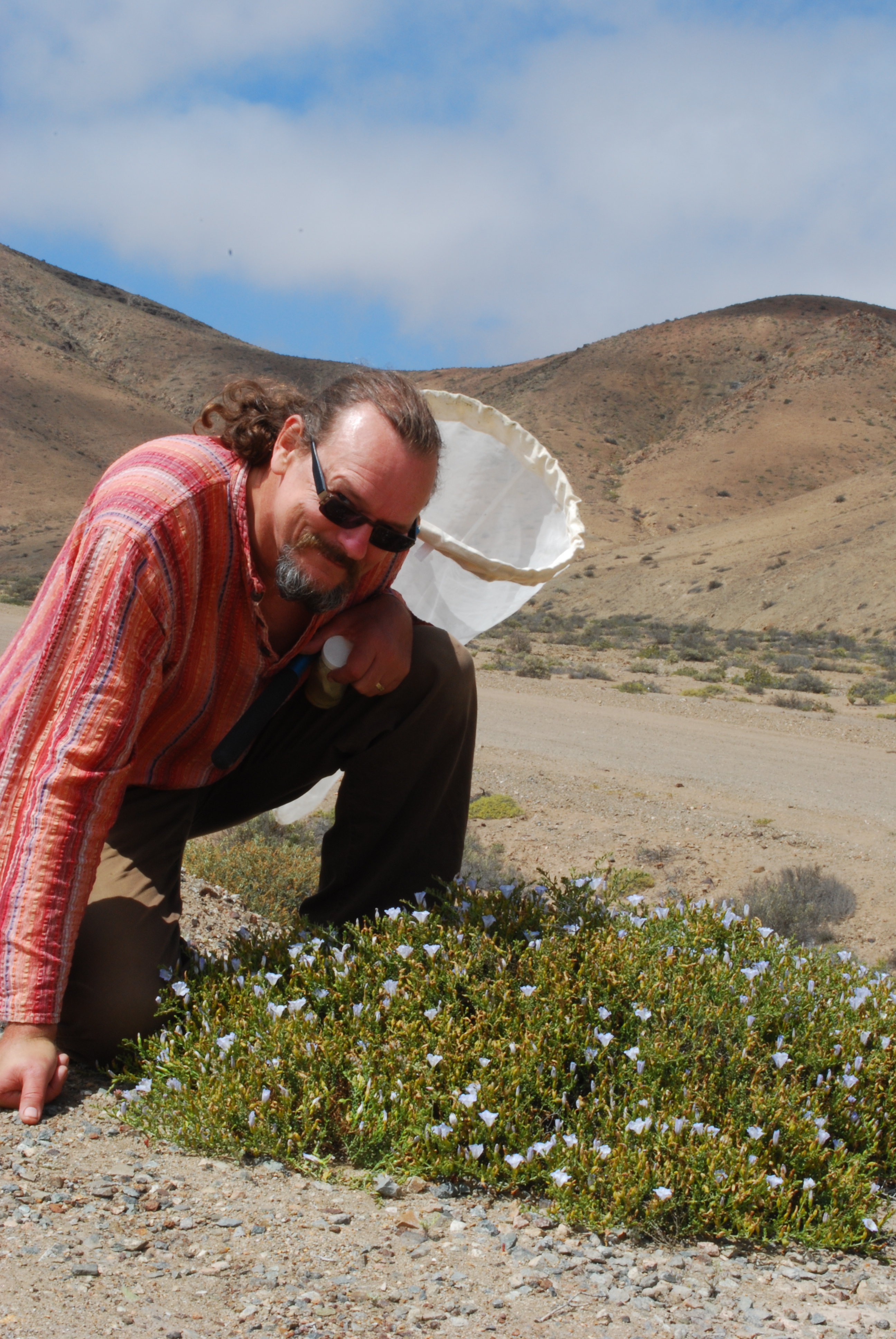 [Laurence in the field (Chile)]