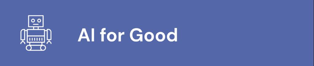 AI for good