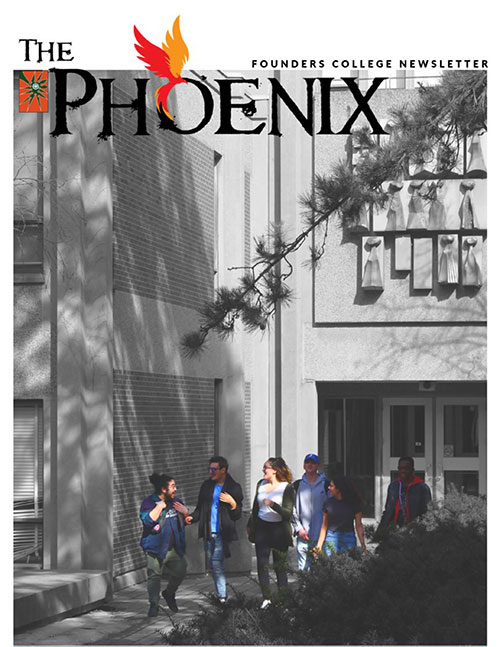 The Phoenix Vol 1 Issue 6 cover page