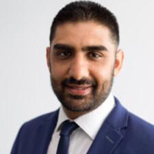 new college alumnus Qasim Chaudhry