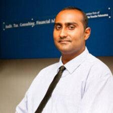 new college alumnus Shamez Sunderji