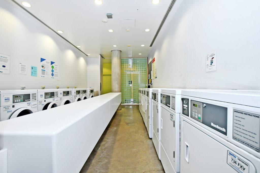Laundry room.
