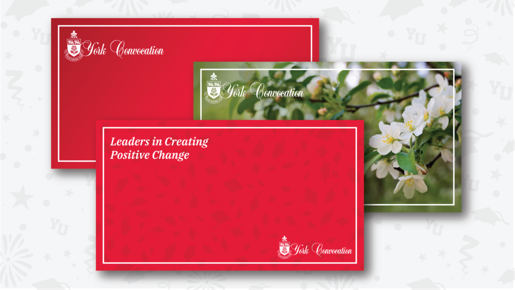 Three examples of Zoom backgrounds, red and floral