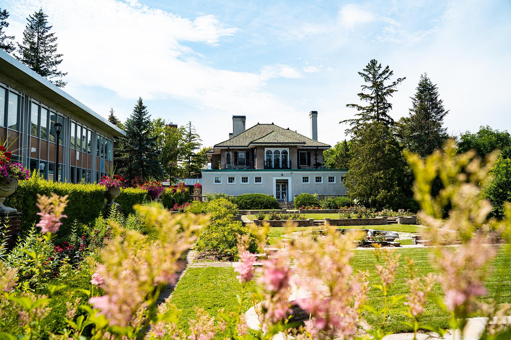 Rose Garden at Glendon