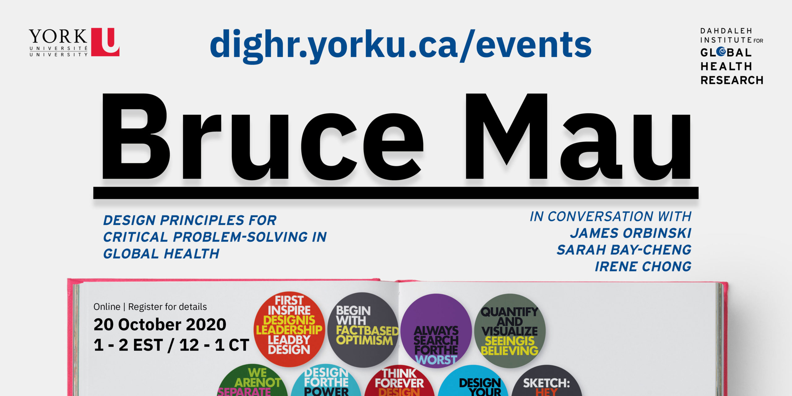 Bruce Mau event twitter graphic