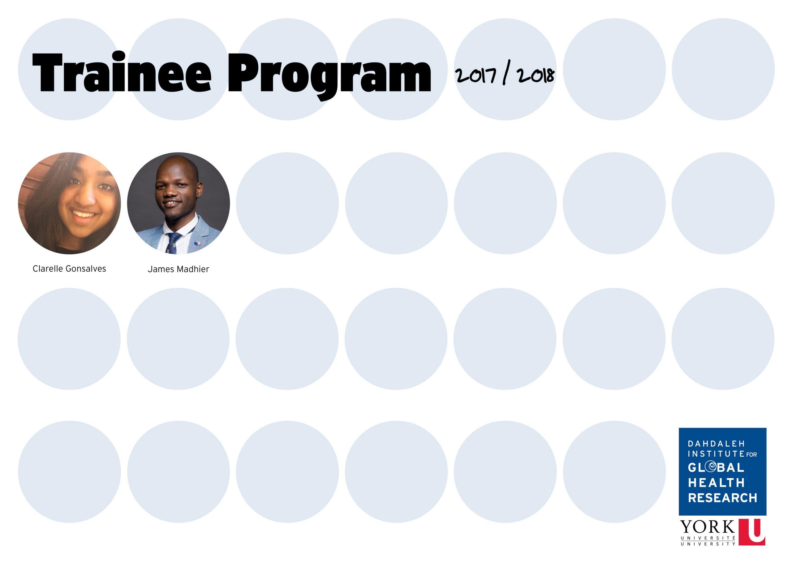 Trainee Program 2017-2018