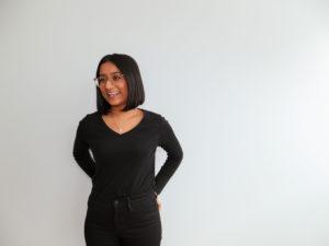 headshot of Tanya Narang in front of blank wall