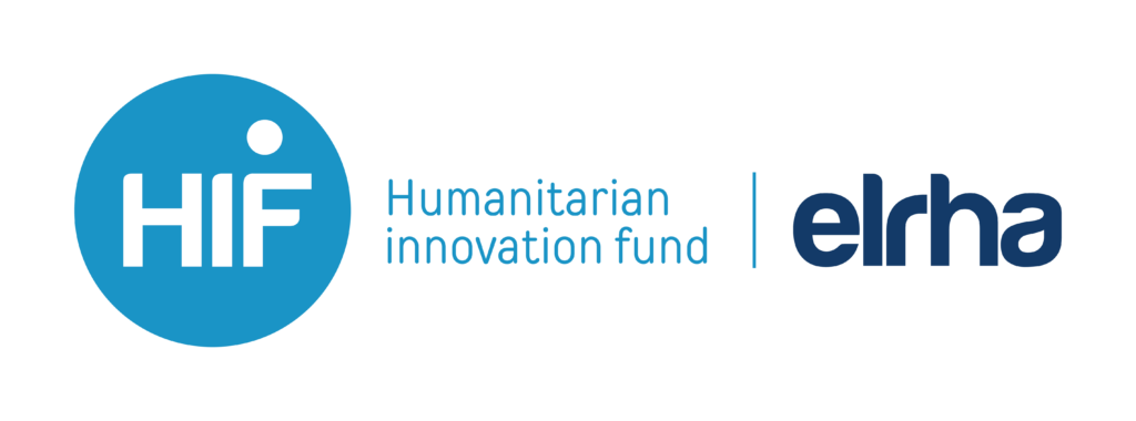Logo of Humanitarian Innovation Fund and ELRHA