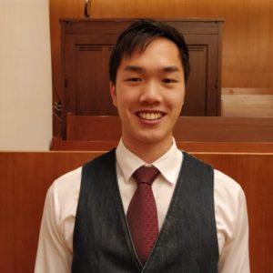 Front profile photo of Dixon, smiling