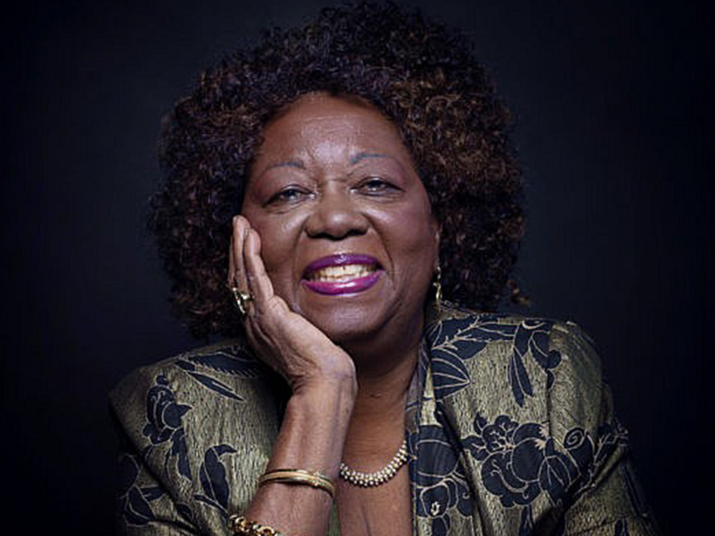Photo of the Honorable Jean Augustine smiling