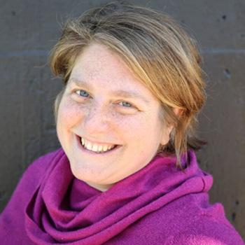 headshot of professor Sarah Flicker