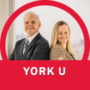 Charles Hopkins, UNESCO Chair in Reorienting Education towards  Sustainability at York University,  and Katrin Kohl, executive coordinator to the UNESCO Chair