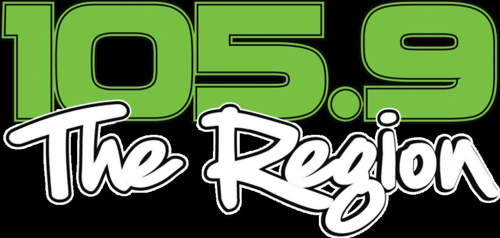105.9 The Region logo
