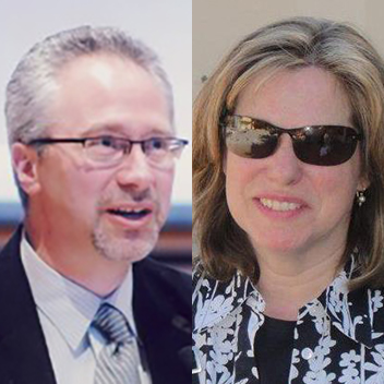 Carl Ehrlich and Laura Wiseman