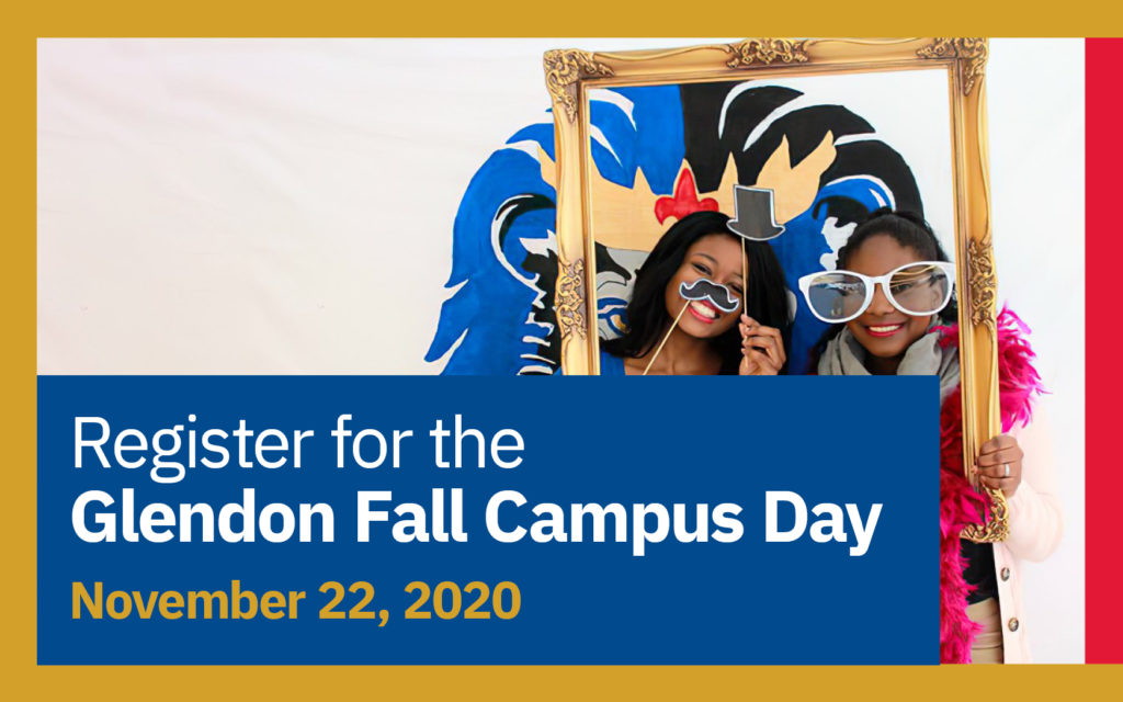 Register for the Glendon Fall Campus Day November 22, 2020