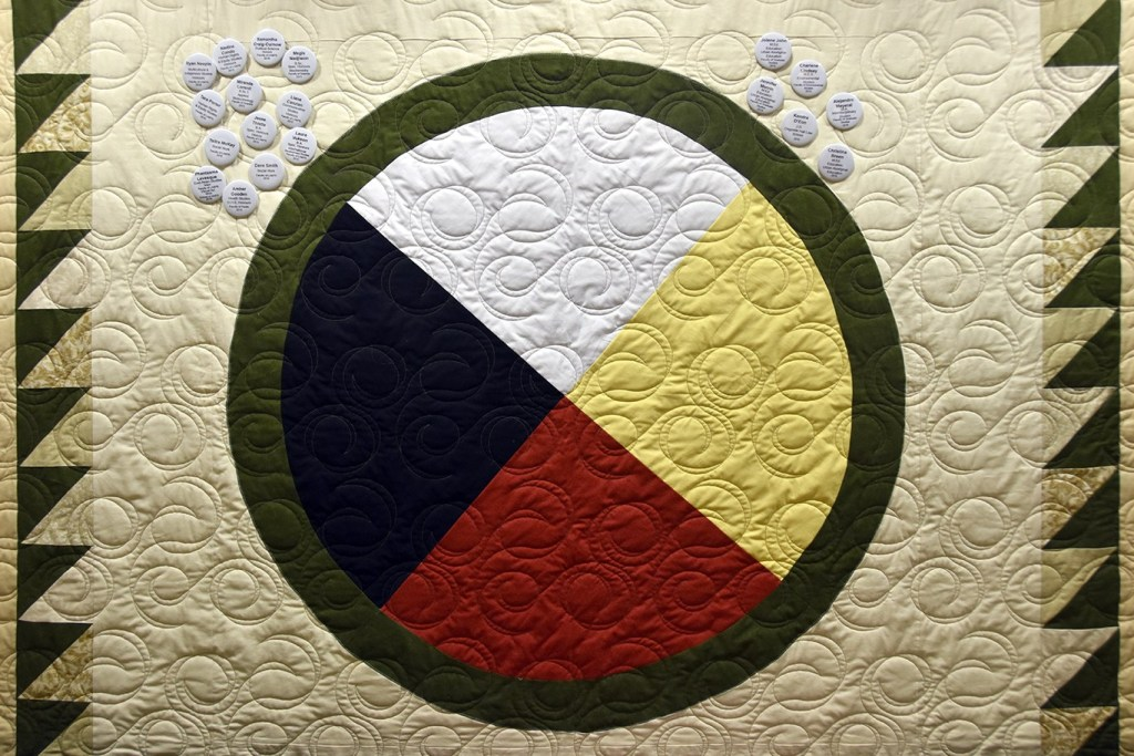 Image of Centre for Aboriginal Student Services quilt art
