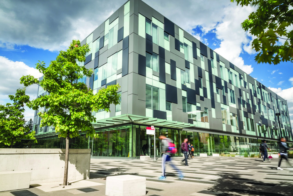 Image of life science building
