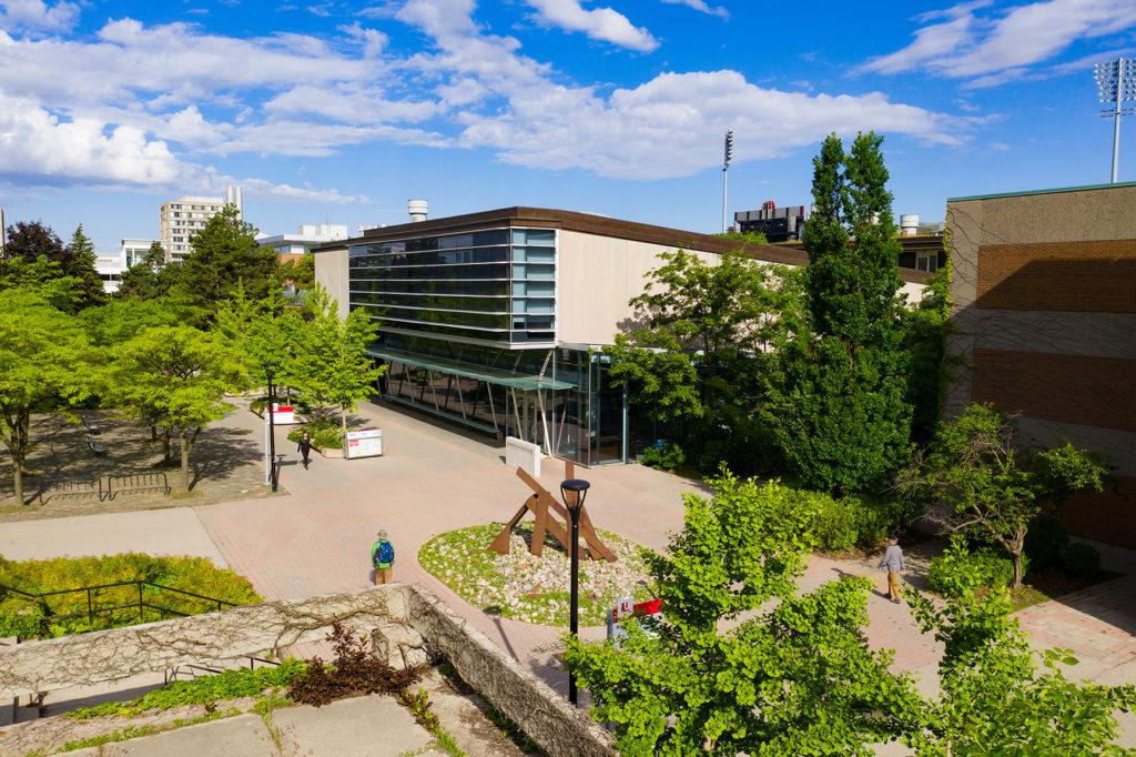 Panoramic view of YorkU buildings