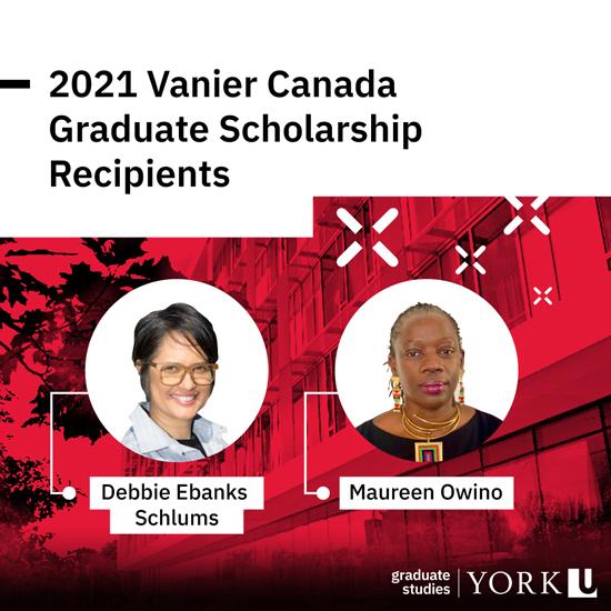 composite image promoting 2021 Vanier Scholars